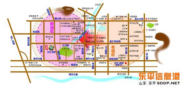 青岛市南区东平路地图