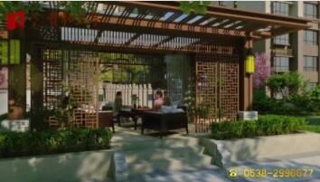 中式意境庭院 五重绿化景观