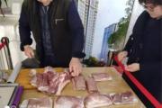 东平一老板,全城免费送猪肉啦!!